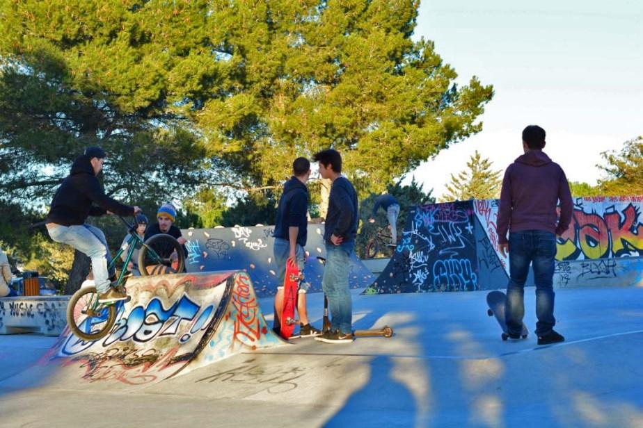 Vues du SkatePark